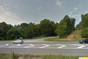 Power Lines at Whelchel Road and GA 400