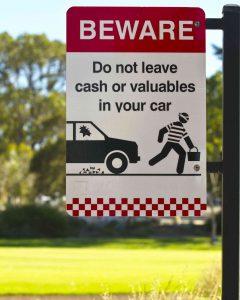 ParkingLotSafetySign