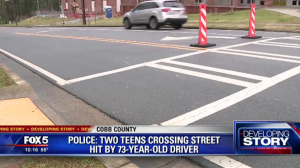 Malik Spellman, One Other Student Struck by Car While in School Crosswalk.