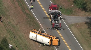 Accident Involving Coweta County School Bus Causes multiple injuries.