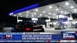 Man Injured in Atlanta Chevron Gas Station Shooting.