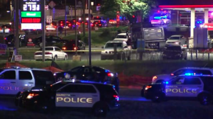 Cobb County Texaco Gas Station Shooting leaves One Person Shot and Injured.
