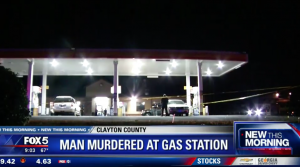 Man Shot to Death in His Car at Clayton County Gas Station.