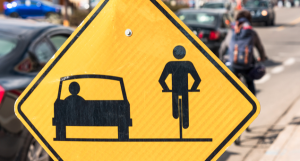 Bicyclist injured in Gainesville Hit-and-Run Accident.