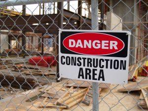 Danger Construction Area