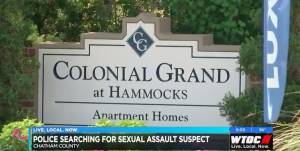 Reported Sexual Assault in Whitemarsh Island Apartment Complex.