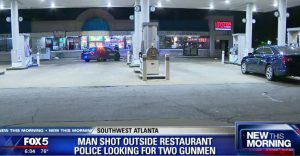 Man Ambushed and Shot Leaving Southwest Atlanta Restaurant.