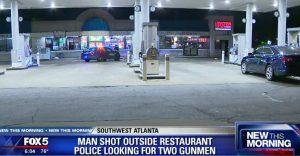 Man Ambushed and Shot Leaving Southwest Atlanta Restaurant.