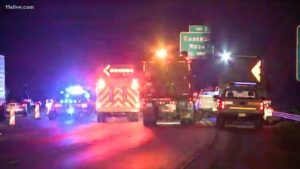 Construction Worker Hit and Killed in Fulton County I-285 Accident.