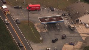Lithia Springs Gas Station Attempted Robbery and Shooting Leaves One Man Dead.