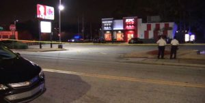 Atlanta Fast-Food Restaurant Parking Lot Shooting Leaves Two People Injured.