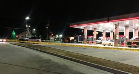 Atlanta Gas Station Robbery and Shooting Leaves One Person Injured.