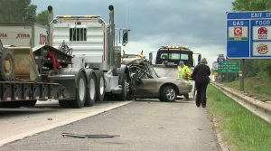 Macon, GA I-75 Accident Leaves One Man Injured.