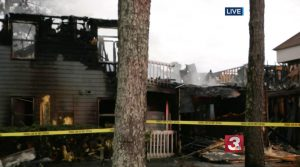 Park Lake Apartments Fire in Catoosa County, GA Injures Three People.