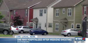 Cottage Row Apartments Shooting in Statesboro, GA Leaves Teen Man Injured.