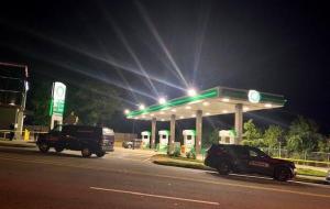 Southwest Atlanta, GA Gas Station Robbery Attempt/Shooting Leaves One Man Injured.