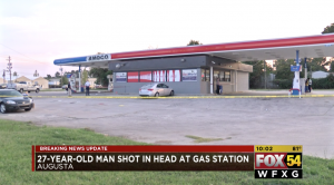 Dominic Brown Injured in Augusta, GA Gas Station Shooting.